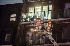 požár v Manchesteru