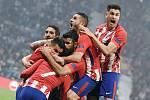 Radost hráčů Atletica Madrid