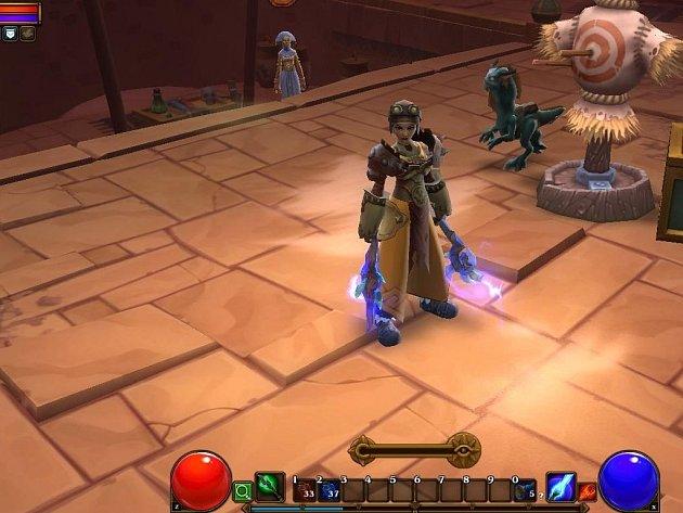 Počítačová hra Torchlight 2.