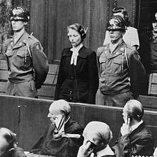 Herta Oberheuser u soudu