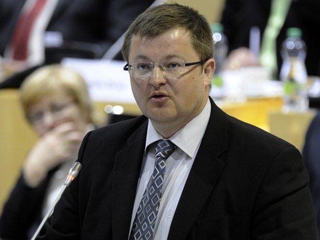 Náměstek ministra financí Jan Gregor.
