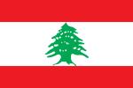 Vlajka Libanonu