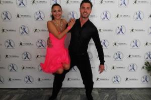Martin Lejsal na taneční soutěži
