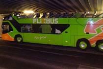 Nehoda autobusu Flixbus v Berlíně