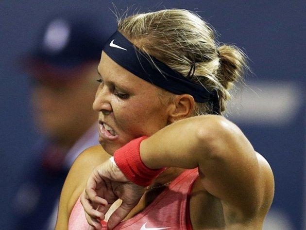 Lucie Hradecká skončila na US Open hned v prvním kole.