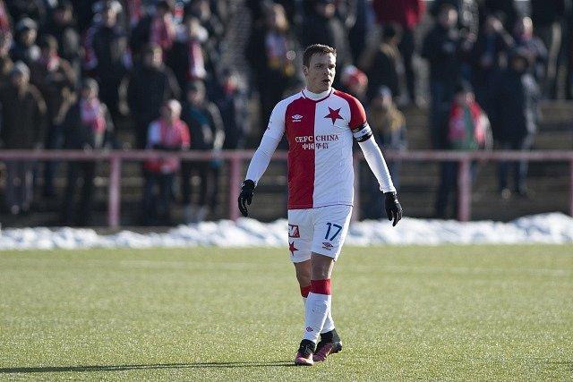 Stanislav Tecl při přípravném utkání proti Ružomberku.