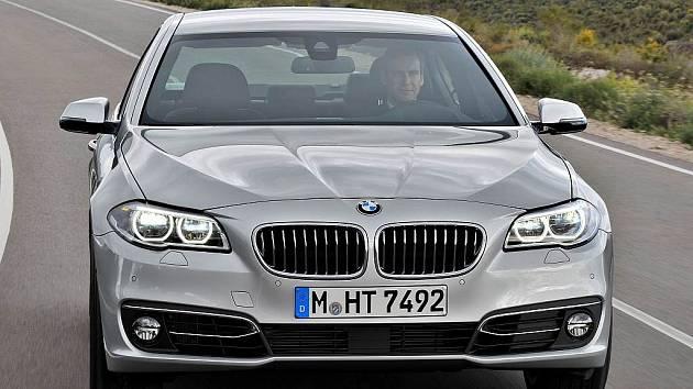 BMW řady 5.