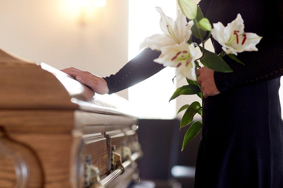 Pohřeb. Ilustrační snímek