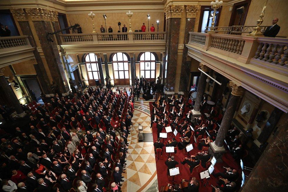 Slavnostní otevření Národního muzea v Praze.