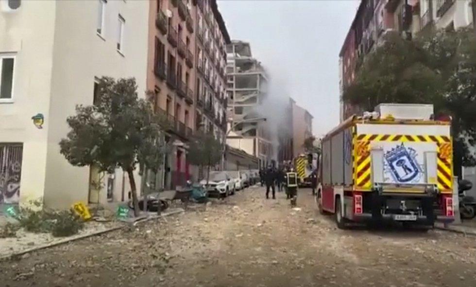 Centrem Madridu otřásl výbuch