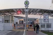 Závod automobilky Škoda Auto ve Vrchlabí. Ilustrační snímek