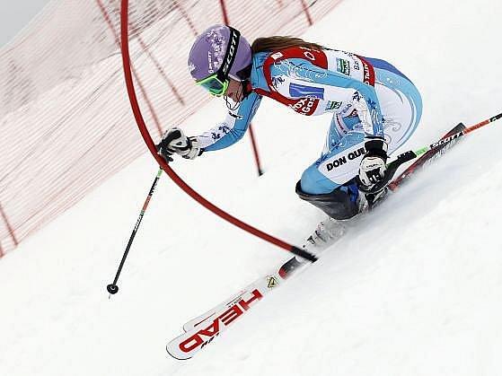 Šárka Záhrobská se na světovém šampionátu výrazně neprosadila.