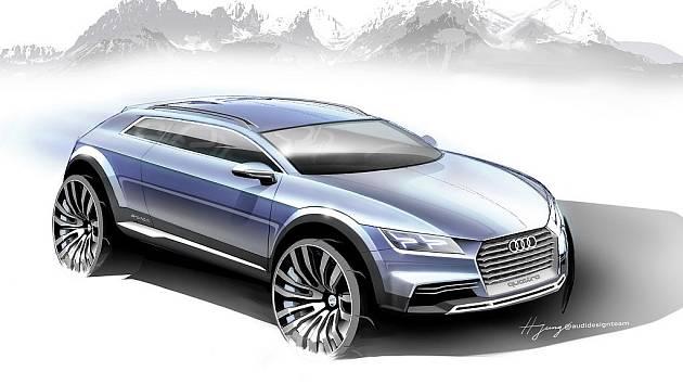 Audi představí na lednovém autosalonu v Detroitu nový koncept.