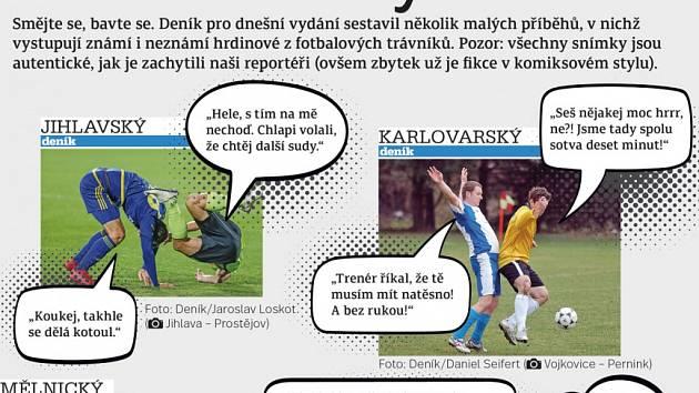 Sportovní komiks.