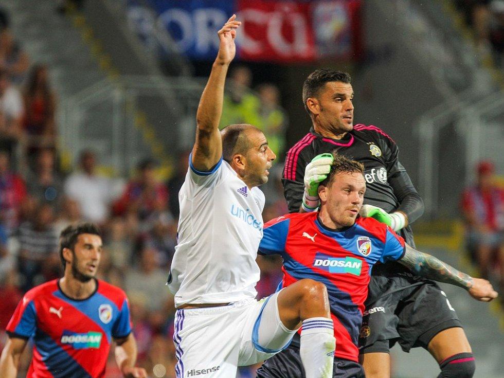 Plzeň - Maccabi Tel Aviv: Boj ve vápně