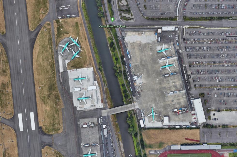 Odstavené letouny Boeing 737 MAX