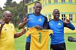 Usain Bolt jako člen jamajského týmu Harbour View