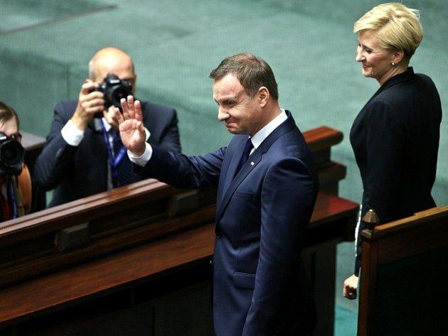 Andrzej Duda složil prezidentskou přísahu.
