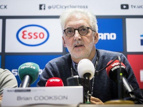 Předseda Mezinárodní cyklistické federace UCI Brian Cookson.