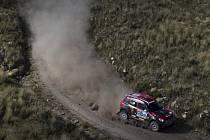 Orlando Terranova na Rallye Dakar 2015.