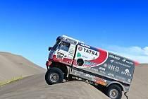 Martin Kolomý na Rallye Dakar 2014.