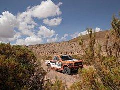 Martin Prokop na Rallye Dakar 2017.