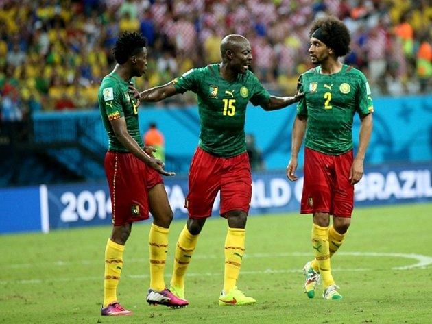 Fotbalisté Kamerunu se během zápasu s Chorvatskem hádali mezi sebou.