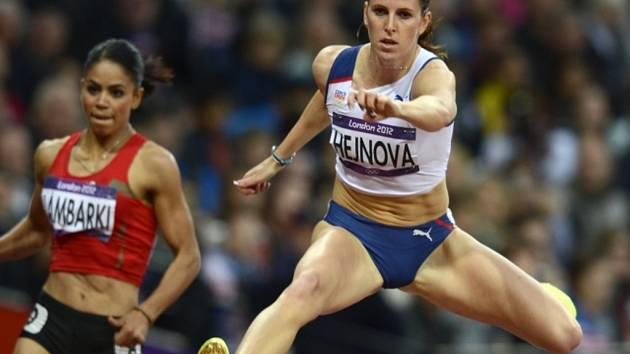 Překážkářka Zuzana Hejnová na olympijských hrách v Londýně.