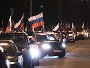V Rusku začaly hlavní oslavy prvního výročí anexe Krymu.