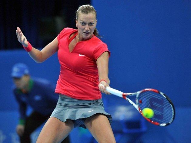 Petra Kvitová si přivezla na asijské turnaje formu. V Pekingu prošla do semifinále.
