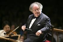 Dirigent newyorské Metropolitní opery James Levine na snímku ze 7. července 2006