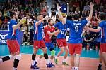 Volejbalová Evropská liga: Česko - Bělorusko.