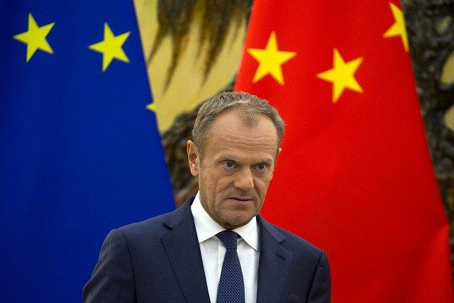 Summit Číny a EU. Donald Tusk