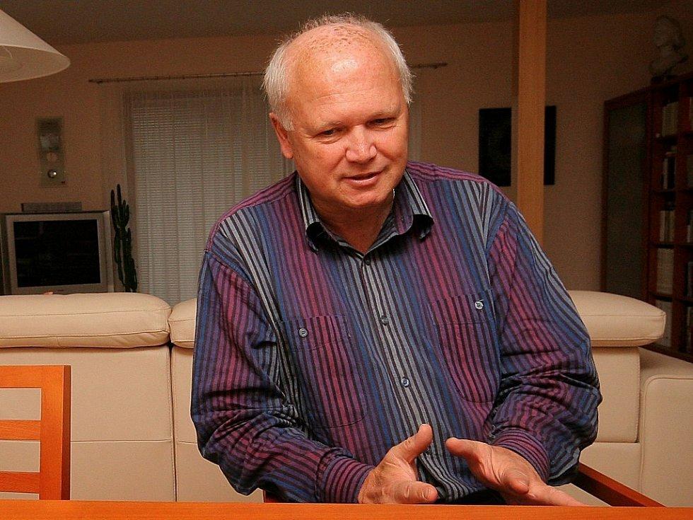 Jihlavský psychiatr Miroslav Skačáni.