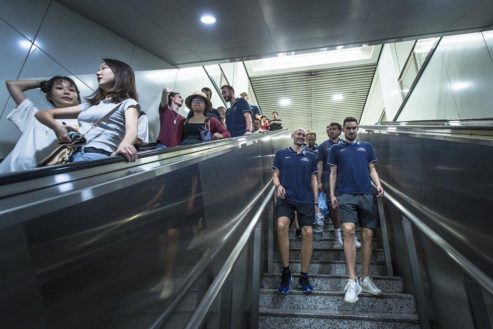 Otevření Českého domu na basketbalovém MS v Číně