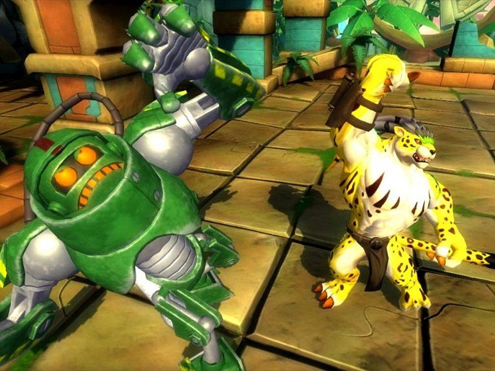 Počítačová hra Invizimals.