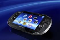Handheld PlayStation Vita.