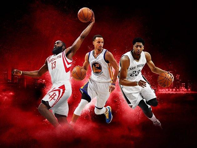 Počítačová hra NBA 2K16.