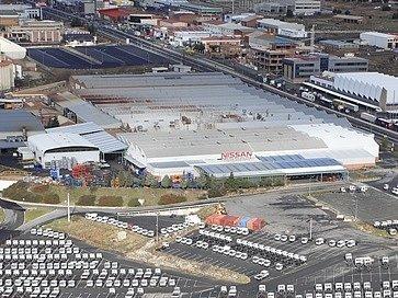 Továrna Nissanu poblíž Barcelony