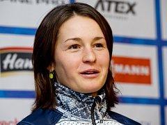 Biatlonistka Veronika Vítková.