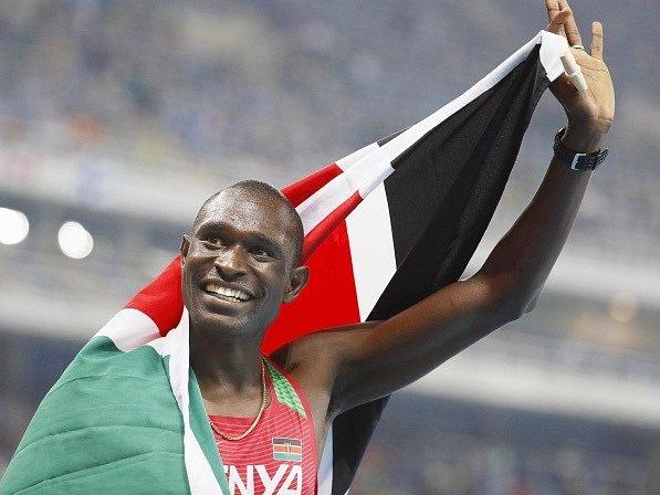 Keňan David Rudisha obhájil v Riu de Janeiro olympijské prvenství v běhu na 800 metrů.