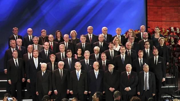 Státníci na světovém fóru holocaustu