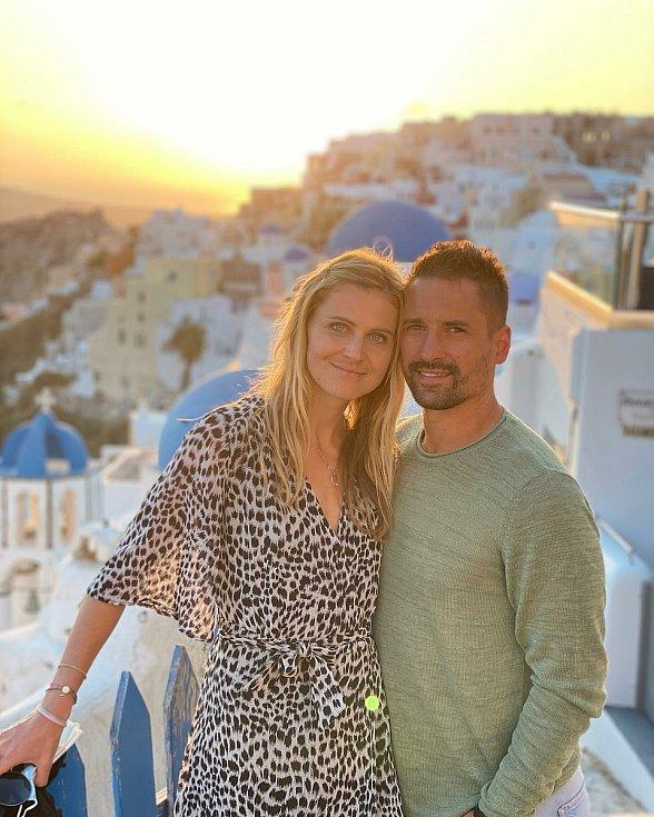 Na dovolené v Řecku.