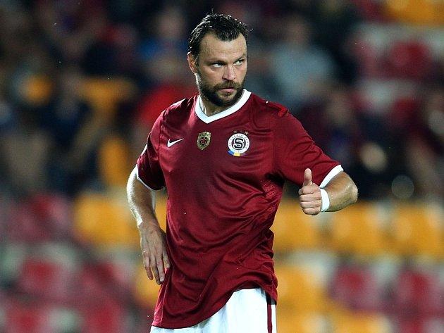 Tomáš Ujfaluši v dresu Sparty - hrál pohár a přípravu