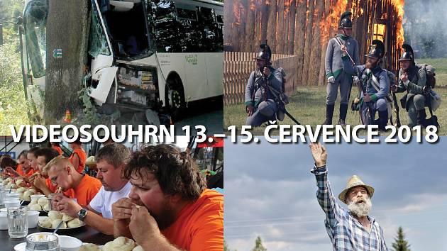 Videosouhrn 13.–15. července 2018