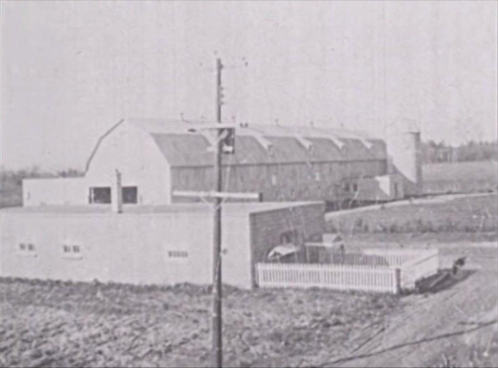 Orléans v 50. letech minulého století, kdy došlo ke katastrofě