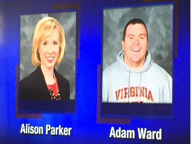 Televizní reportérka Alison Parker a fotograf Adam Ward přišli o život při střelbě během ranního živého vysílání ve Smith Mountain Lake v Monetě ve Virginii.