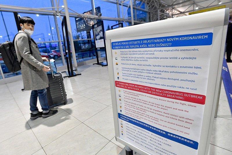 V únoru byl vyhlášen zákaz letů mezi Prahou a Pekingem