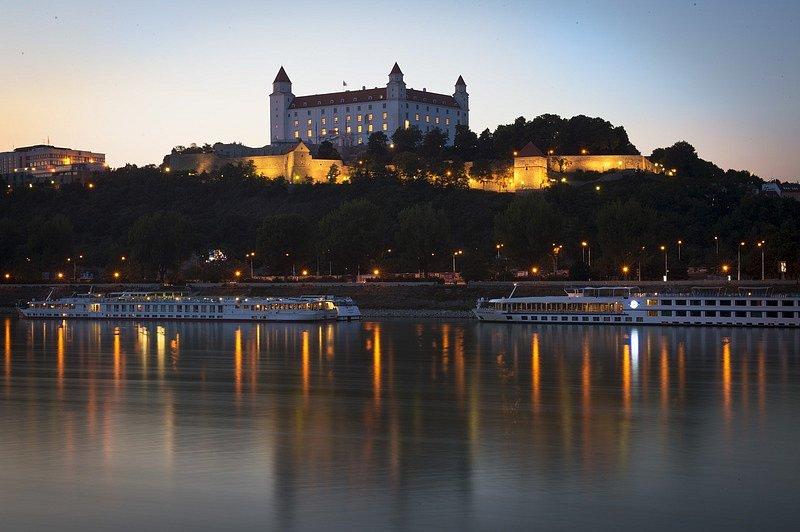 Bratislavský hrad. Ilustrační foto.