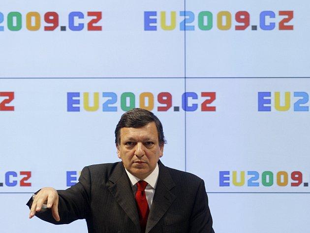 Předseda Evropské komise Jose Manuel Barroso